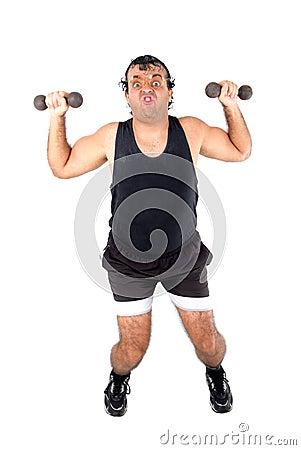 Free Super Athlete Royalty Free Stock Photos - 2393468