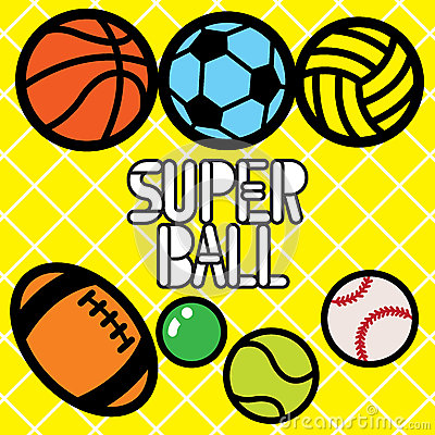Free SUPER BALL Stock Photography - 51658282