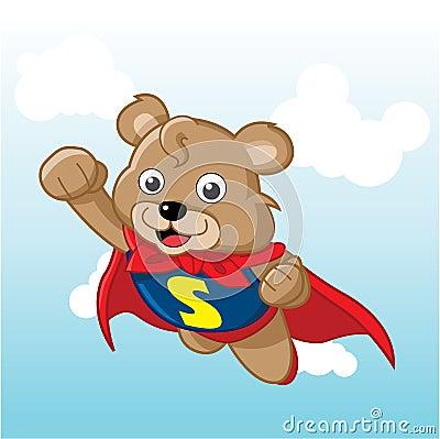 Super Bear Royalty Free Stock Photos - Image: 19448268