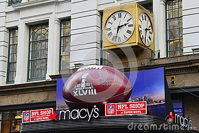 Super Bowl Boulevard Editorial Photography