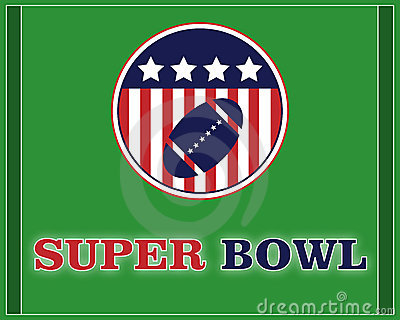 Super bowl - vector