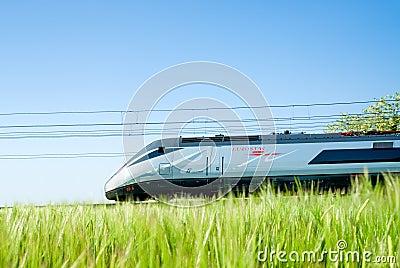 Super fast passenger train