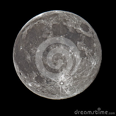 Free Super Full Moon Stock Photography - 43377842