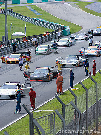Super GT Championship Editorial Stock Image