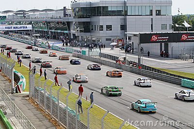 Super GT International Series 2009 02 Editorial Stock Photo