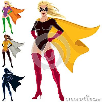 Super héroe - hembra