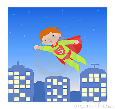 Super hero_kid I