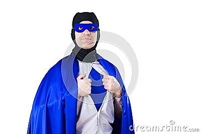 A super hero Stock Photo