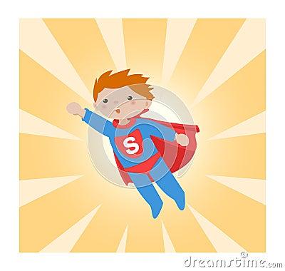 Free Super Hero_kid II Stock Image - 13580301