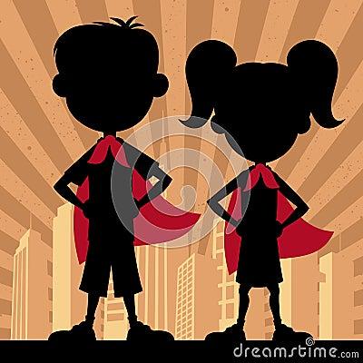 Free Super Kids 2 Stock Photos - 47699223