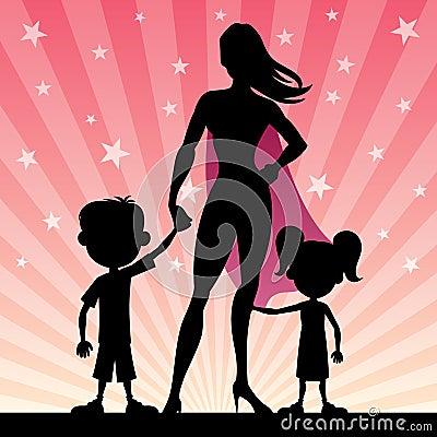Free Super Mom Stock Photos - 47804683