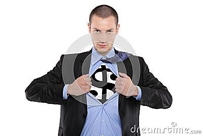 Super money man