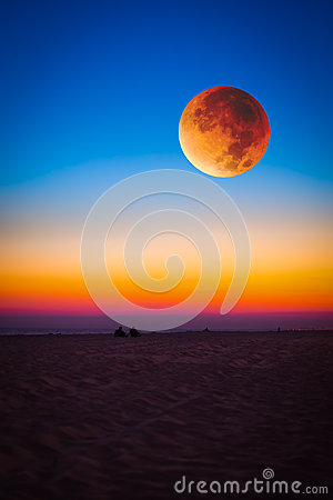 Free Super Moon Royalty Free Stock Photography - 60103107