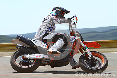 Super Moto Editorial Stock Photo