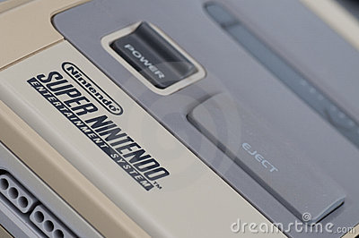 Super Nintendo (SNES) Editorial Photo