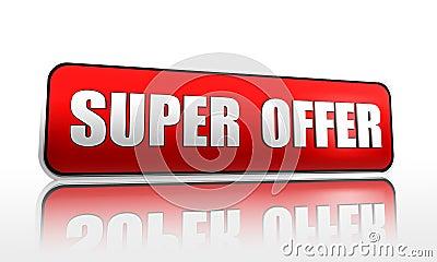 Super offer banner