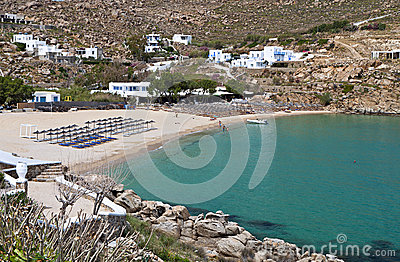 Super Paradise beach at Mykonos