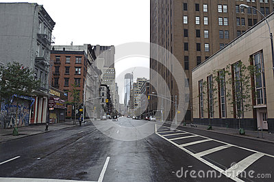 After super storm Sandy in new york Editorial Stock Image