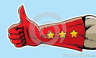 Super thumbs up