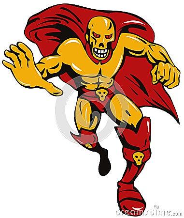 Super villain skull