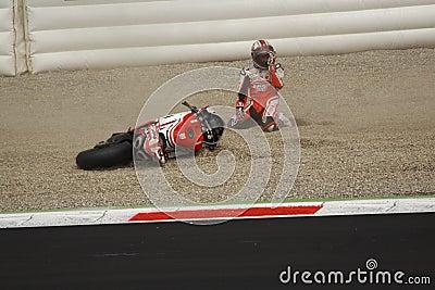 Superbike 2010 - Michel Fabrizio Editorial Image