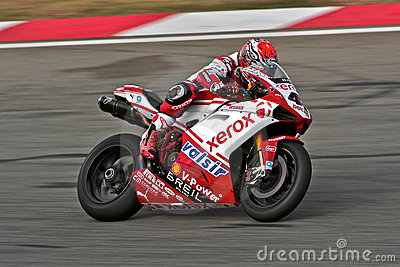 Superbike Ducati No.41 Editorial Photo