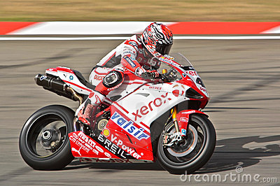 Superbike Ducati No.41 Editorial Stock Photo