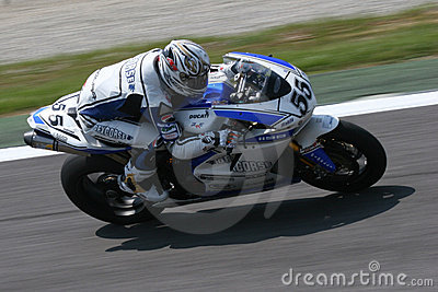 Superbike race monza Editorial Stock Photo