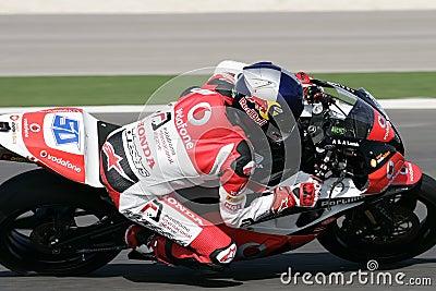 Superbikes 2009 Imagem Editorial