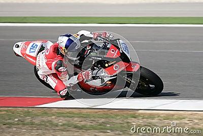 Superbikes 2009 Redaktionell Foto