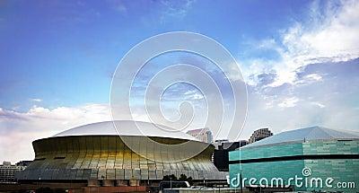 Superdome y arena