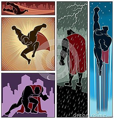 Superhero Banners 3