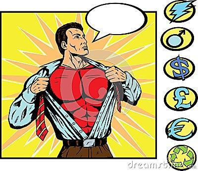 Superhero changing