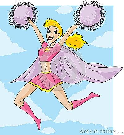 Superhero Cheerleader