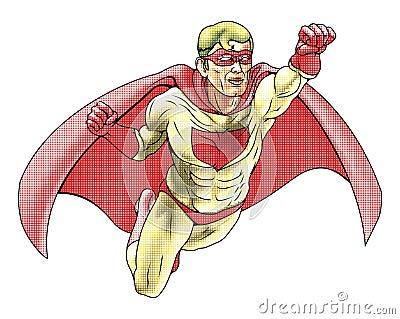 Superhero Comicbook Style Illustration
