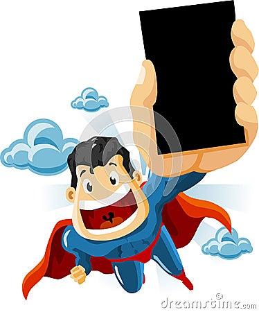 Superhero for Commercials
