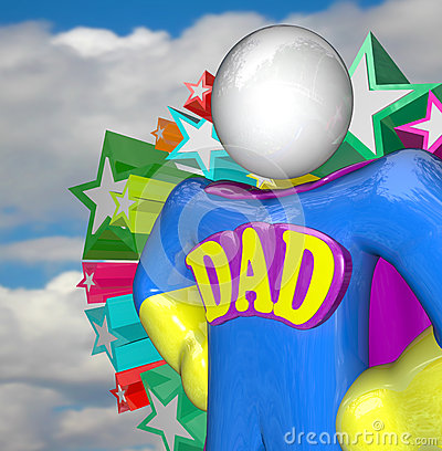 Superhero Dad Super Hero Father Costume