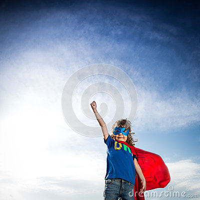 Free Superhero Kid Stock Photos - 31165913