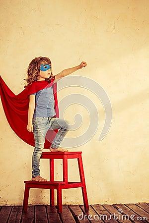 Free Superhero Kid Stock Images - 34992484