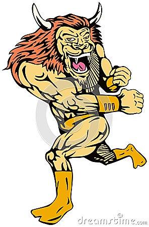 Superhero Lion