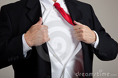 Superhero opening suit