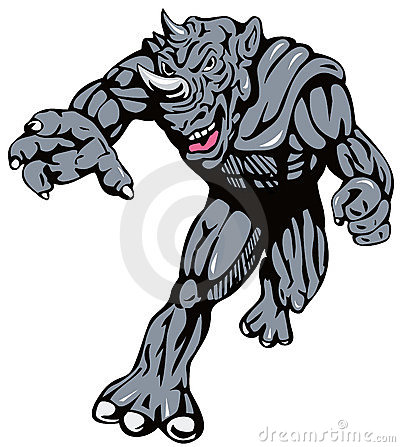 Superhero Rhinoman