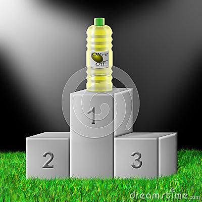 Superior olive oil