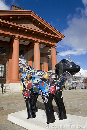 Superlambananas in Liverpool Editorial Image