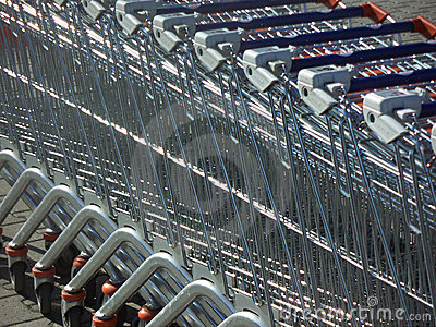 Supermarketów tramwaje