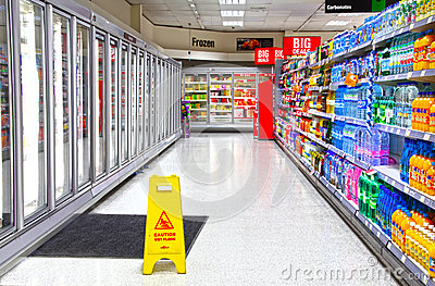 Supermarket Editorial Photography