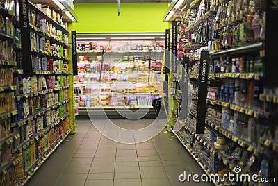 Supermarket Editorial Stock Photo