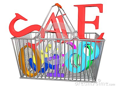 Supermarket Basket Sale Take_Raster