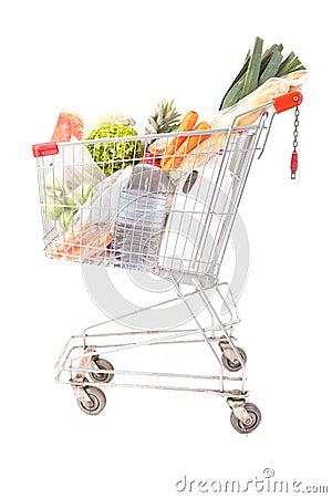 Supermarket car