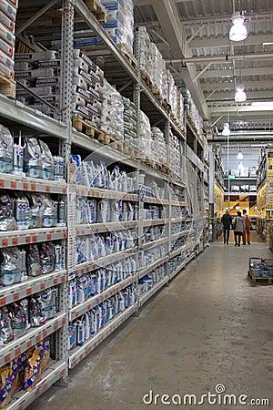 Supermarket DIY Editorial Image